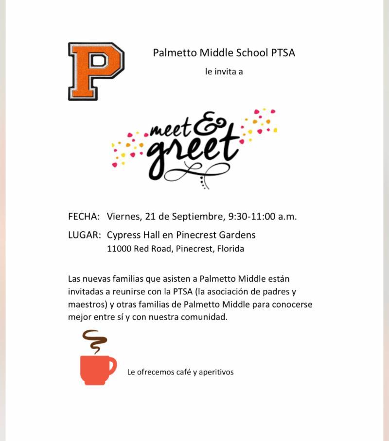 meet and greet spanish